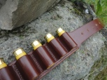 Handmade cartridge belt